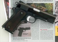 Colt Commander .45 ACP custom by Armand Swenson and Ross Seyfried, solid provenance, layaway