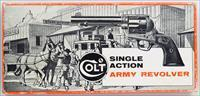 Colt stagecoach box marked for 5.5-inch .45, Single Action Army