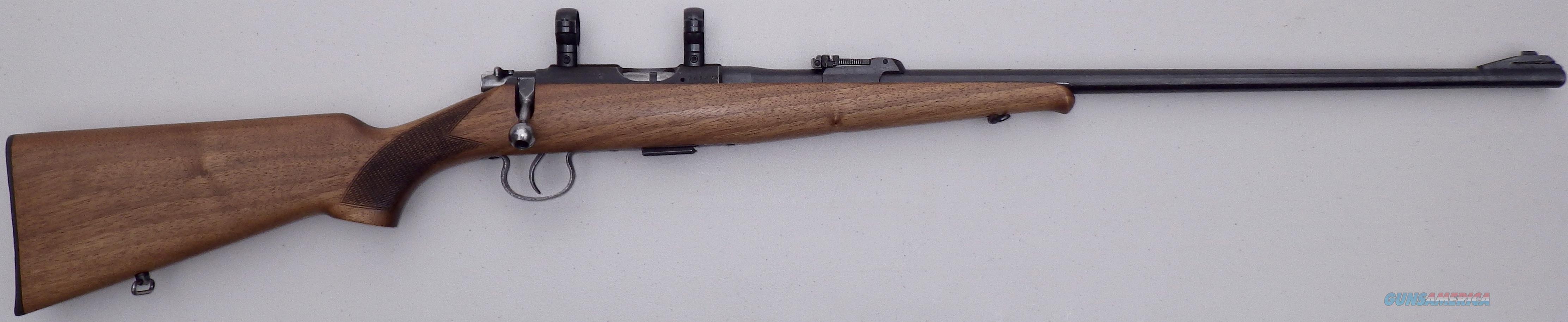 CZ / BRNO Model 2  22 LR, 1977, CAI, sights, rings, great bore