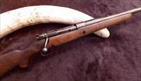 "Wally Johnson's (Capstick's ""Last Ivory Hunter"") Pre-war .375 H&H elephant rifle"