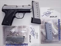 Kimber Solo Carry 9mm, stainless slide, 3 magazines, two tone, 99% in factory box