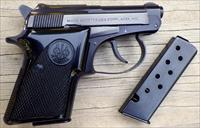 Beretta Model 20 .25 ACP, 2 magazines, 99% finish