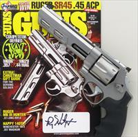Guns Magazine 11/13 cover revolver, Smith & Wesson Performance Center 629-6 Competitor .44 Magnum, Meopta, collection of Roy Huntington, layaway