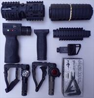 Premium AR-15 accessories, large lot, all new