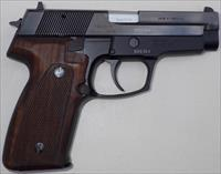 CZ 99 9mm, two 15-round mags, NIB, 1991, wood grips, polished slide