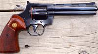 Colt Python 6-inch, 99%+, 1981, box and papers
