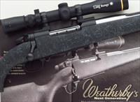Weatherby Mark V Accumark 6.5-300 Weatherby Magnum, featured in American Rifleman, Leupold, muzzle brake