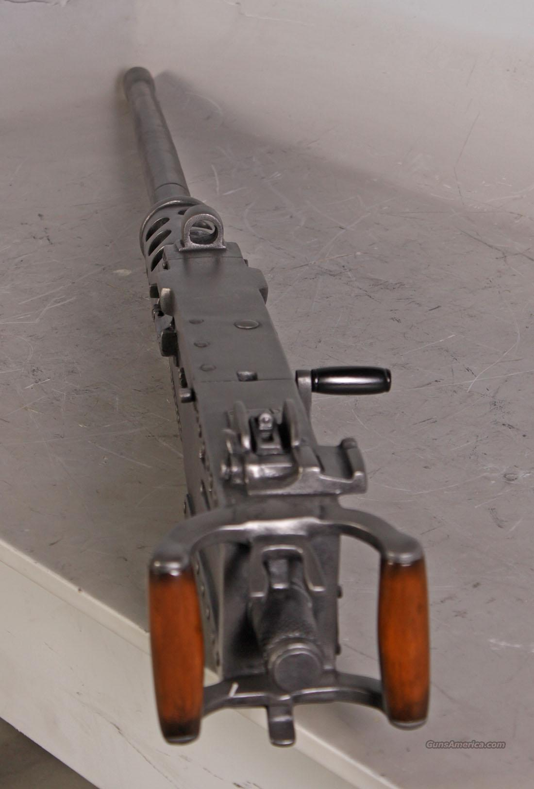 M2 Browning 50 Cal Replica Machine gun has no moving parts