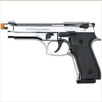 Firat Magnum 92 Front Firing Blank Gun High Polish Nickel Finish