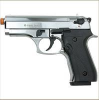 Dicle 8000 Front Firing Blank Gun Nickel Finish