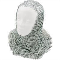 Silver Chain Mail Coif