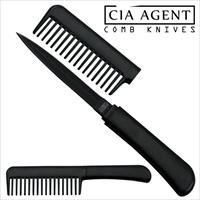 CIA Agent Comb Knife (Black) Free Shipping