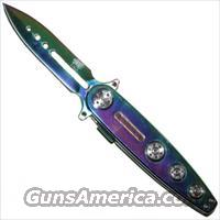 New Age Stiletto Spring Steel pocket knife