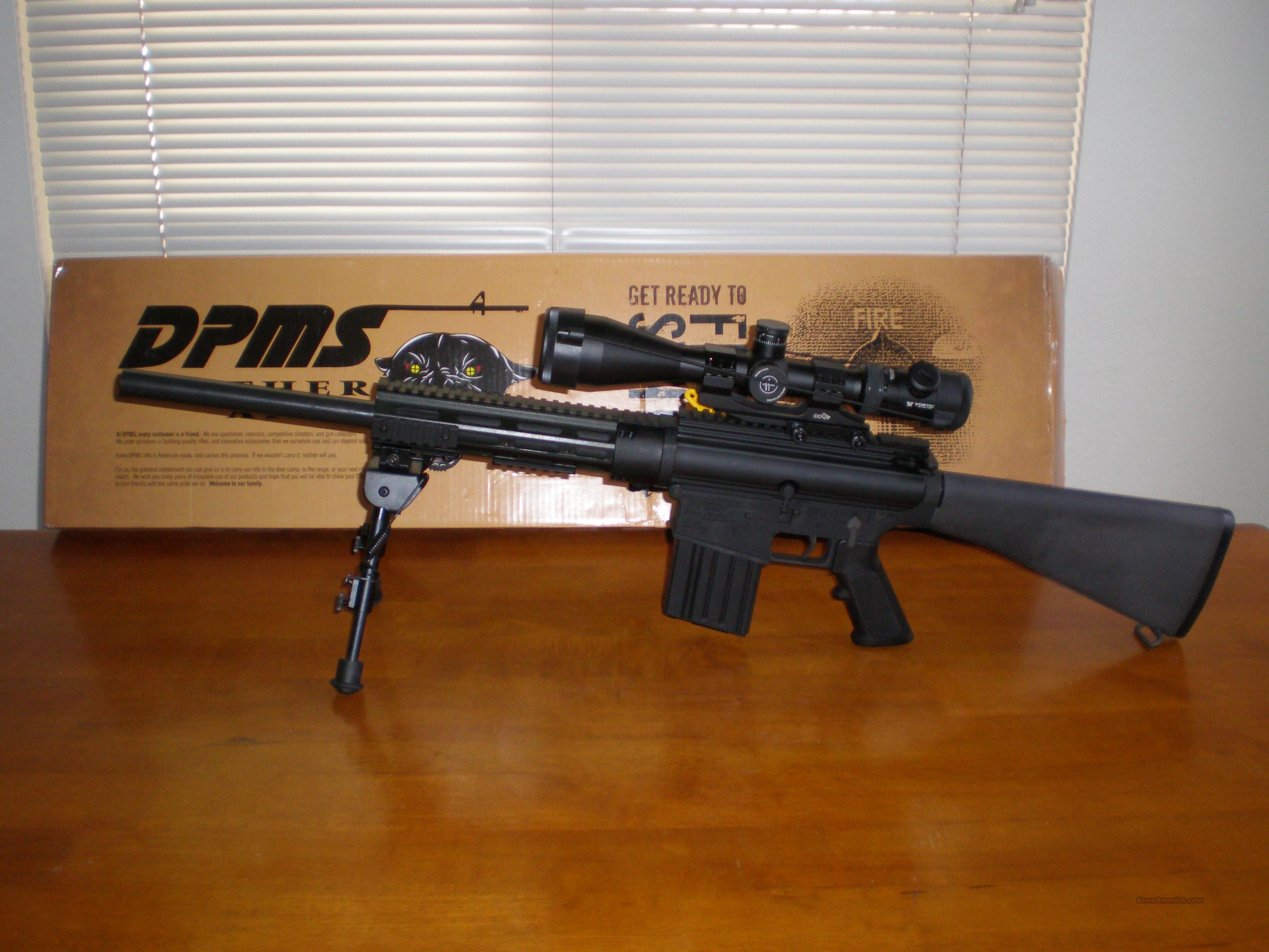 NIB DPMS LR 308-B with Vortex Viper Scope