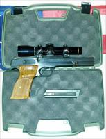 S&W Model 41 .22LR with Leupold Scope