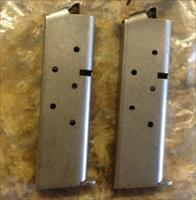 Two (2) Brand New Factory COLT .380 ACP 7 Round Magazines for Government / Plus II 556471