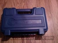 Factory New Smith and Wesson Blue Pistol Case S&W