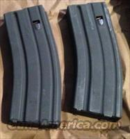 Two (2) Brand New NHMTG 30rd COLT AR15 5.56 Mags Magpul Follower M4 HK416