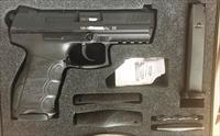 New Heckler & Koch P30 40 S&W DA/SA V3 with safety HK P30S - German Made