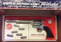 Colt Nickel Single Action Army 2nd Generation SAA  .357 Magnum  1973 production - Like New -  with Stagecoach Box - COLT Peacemaker
