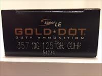 Speer .357 Sig Gold Dot LE Ammo - 50 round box