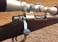 Custom Remington 700 CDL SF .35 Whelen, Leupold scope, Muzzle brake