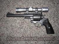 RUGER SUPER REDHAWK WITH WEAVER SCOPE .480