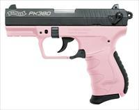 Walther PK380 with Pink Frame 380