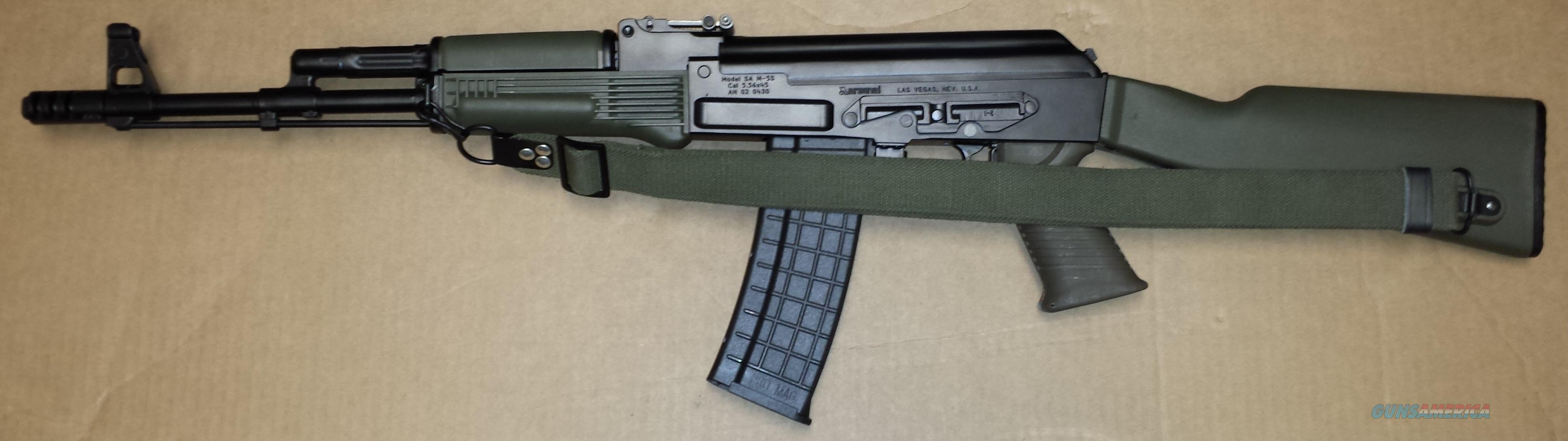 Arsenal Usa Sa M5s Milled Receiver 5 56 223 Ak4 For Sale