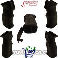 Scorpion Armaments AK-47/74 Black Ergonomic Pistol Grip with Storage Compartment Sold By: Retail Madness