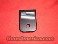 FITS GLOCK MAGAZINE FLOOR PLATE USA FLAG 9MM 40 FIT MODEL 17,19,22,23,26