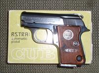 Astra Cub .22 Short   **** PRICE REDUCED! ****