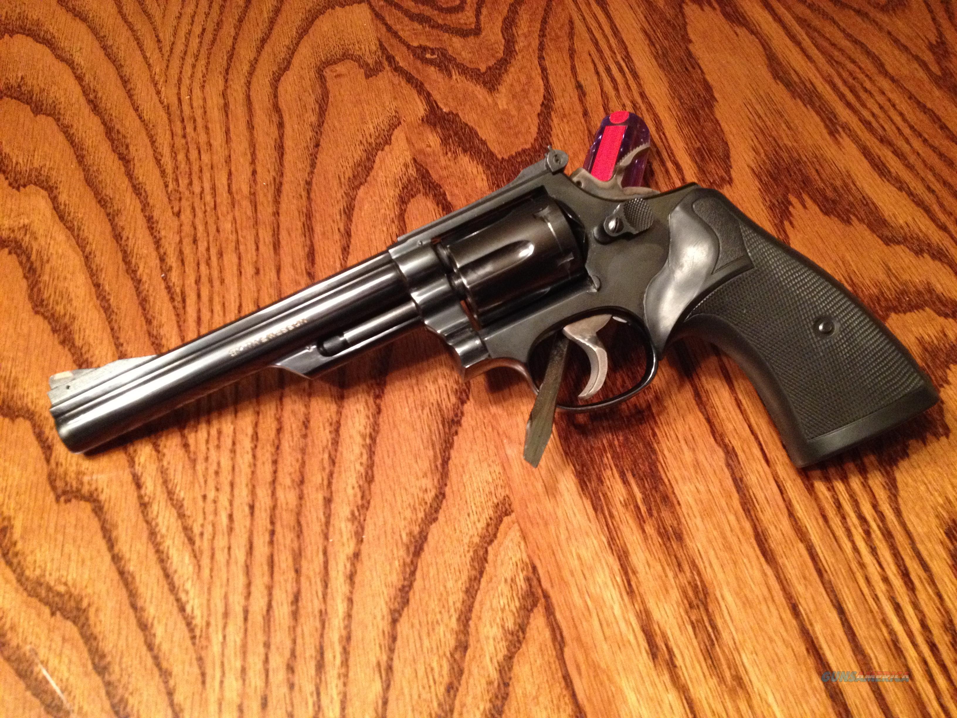 Smith & Wesson Model 19-4 - 6 inch - 357 Magnum - K Frame