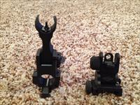 Yankee Hill Machine Flip-Up Iron Sights AR 15
