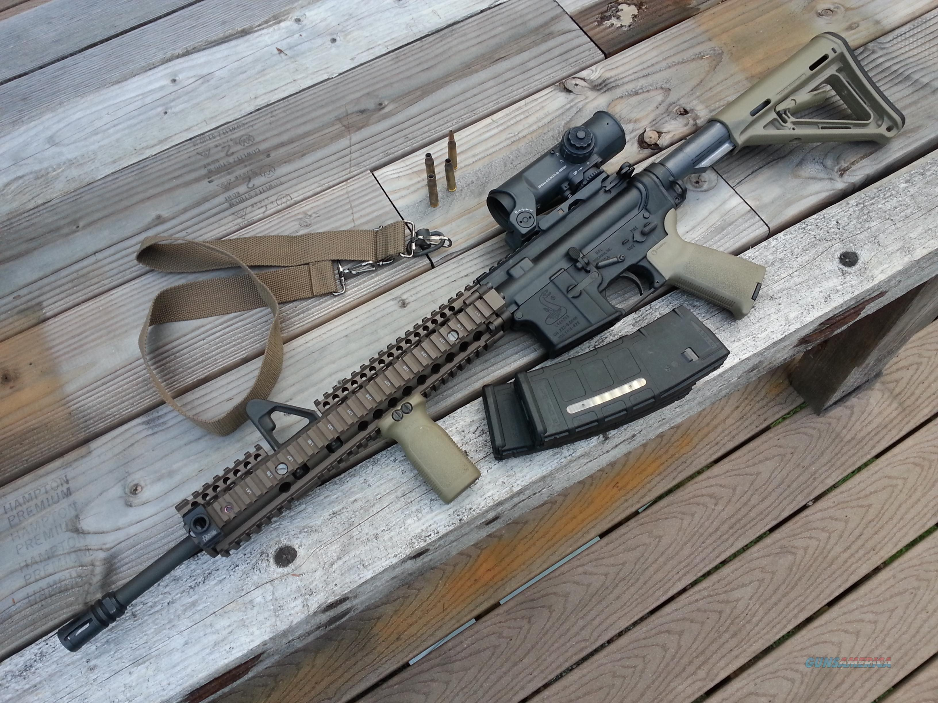 Rails for bushmaster ar 15