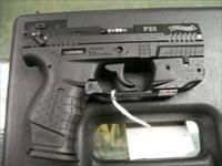 WALTHER P22 WITH CRIMSON TRACE TACTICAL LIGHTS, 2 FACTORY MAGS AND HOLSTER
