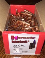 30Cal Hornady Interlock 180gr BTSP - 100 ct