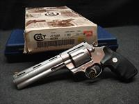 "COLT ANACONDA 6"" 44 MAG MATCHING BOX SLEEVE PAPERWORK"