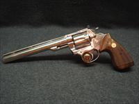 COLT TROOPER MKIII 22LR NICKEL 8 INCH