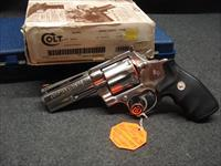 COLT ANACONDA 4 INCH MATCHING BOX PAPERWORK