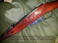 hand carved stock  moisin nagant super fine