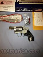 Smith & Wesson J Frame 642 with Internal Lock and Custom S&W Grips