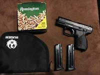 Ruger SR22 pistol W/ 525 round box of Remington golden bullet