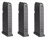 3 Glock 17 Magazines 17rd 9mm NEW Factory Gen 4 Mags