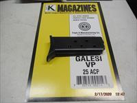 GALESI 25 Magazine 25ACP, vest pocket 7RD with Grip Extension MAG