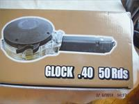 Glock 22/23/27 40 S&W Drum Magazine 40 S&W 50rd With Auto Loader