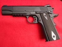 "Colt Government Model 1911 - 45 ACP ""Rail Gun"" - Black - NIB"