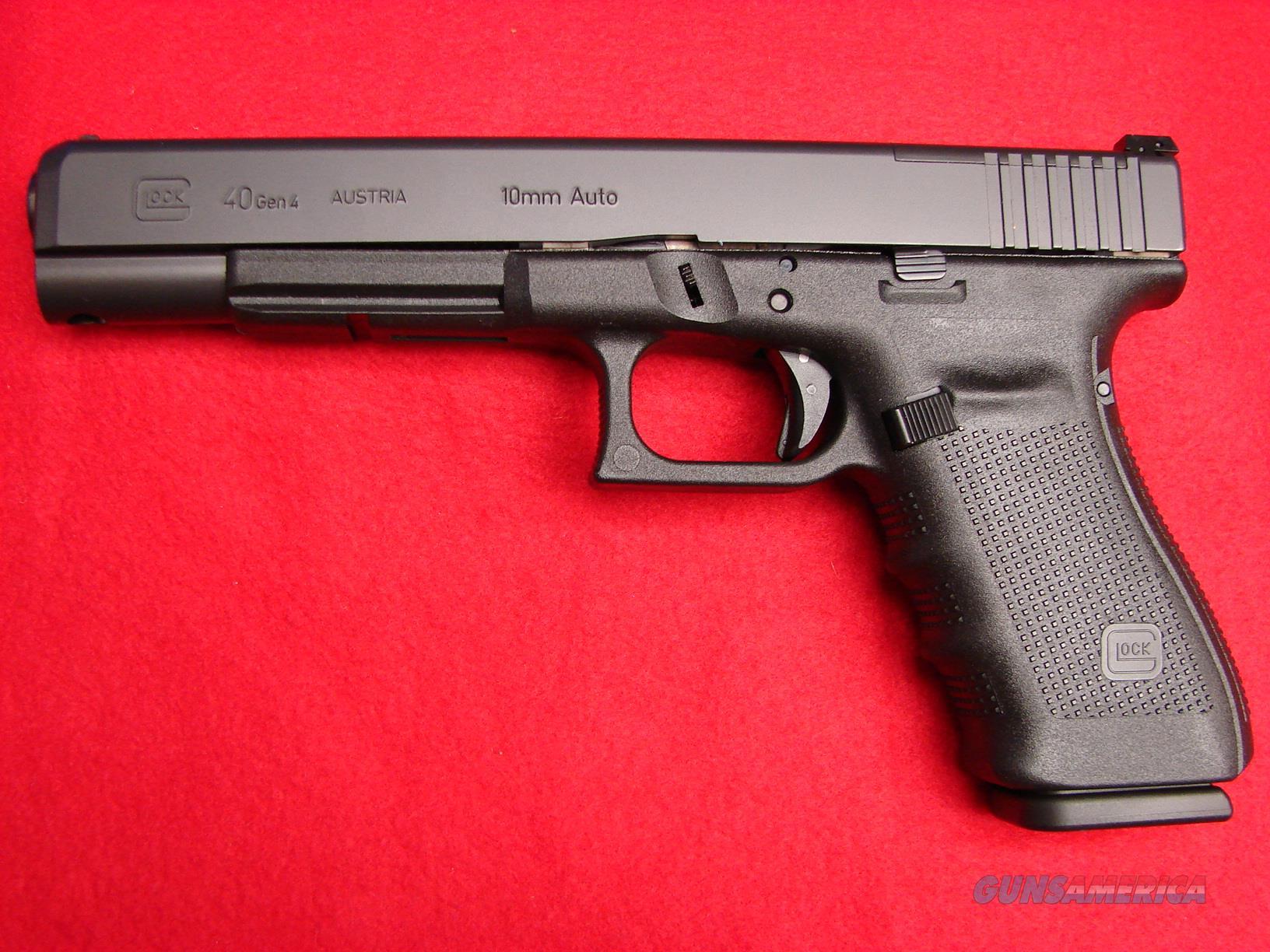 Glock Model 40 - 10mm - Gen 4 - 6