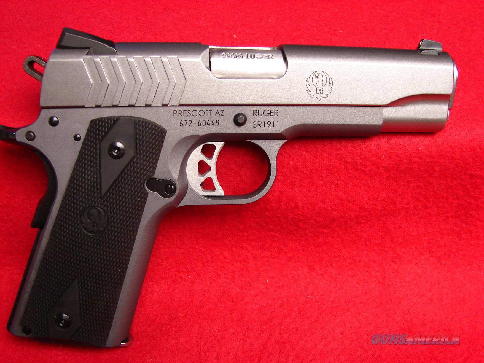 New Ruger Sr 1911 In 9mm Just Released By Rug For Sale