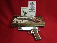 Randall 1911 - 45 acp- Service Model - with Original Factory Box and Papers - Used